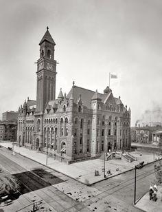 Detroit Post Office - ca. 1902