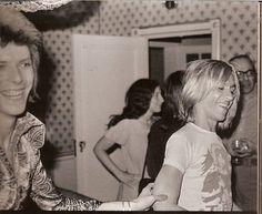 David Bowie and Iggy Pop
