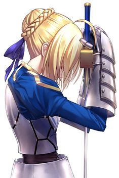Fate, Saber, by fame peera