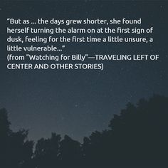 """""""Watching for Billy"""""""