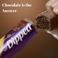 Our kind of wisdom  حكمة اليوم: الشوكولاتة هي الحل