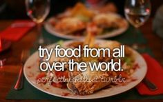 Food ❤❤ | bucket list #56