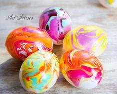 Атрактивна украса на великденски яйца
