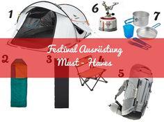 Festival Ausrüstung | Must Haves #festival #festivalausrüstug #camping #festivalcamping #festivalzelt #zeltplatz