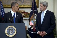 Obama & Kerry press conference...