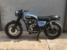 1973 Honda CB500 Four Original Color was candy brown Motor has not be taken apart at all, no need for it. Almost 30k miles Repainted Motor and electrical work done by a professional all cosmetic done myself. Original controls, aftermarket mirrors, turn signals, and seat.   #cb #CB500 #Honda #HONDACB