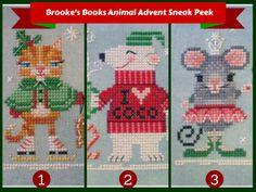Animal Advent Stitch-A-Long Sneak Peek and Sale