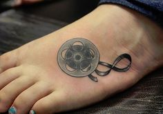 tape-unique-tattoo-ideas-on-foot ~ http://heledis.com/several-unique-tattoo-ideas-for-girls/