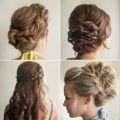 This weekend's wedding in Maui had a large bridal party and it was all up to me to get everyone ready on time! All of these bridesmaid styles took around 20 minutes each. A tip for saving time  Focus on the front and top of the hairstyle these are the most important. If the front and top look good everything else will automatically look better! #hairandmakeupbysteph #onceyougoblackley