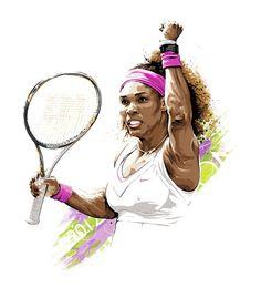 Love the color scheme, i like it sport tennis, play tennis, serena williams Rafael Nadal, Serena Williams, Serena Tennis, Tennis Wallpaper, Sport Tennis, Play Tennis, African American Artist, African Art, Sport Hall