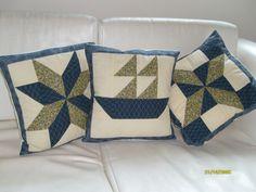 almofadas patchwork