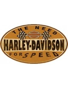 Harley Davidson Need For Speed Sign is a brand new embossed tin sign made to look vintage, old, antique, retro. Purchase your embossed tin sign from the Vintage Sign Shack and save. Harley Davidson Chopper, Logo Harley Davidson, Harley Davidson Vintage, Harley Davidson Birthday, Harley Davidson Roadster, Harley Davidson Wallpaper, Harley Davidson Boots, Classic Harley Davidson, Harley Davidson Touring