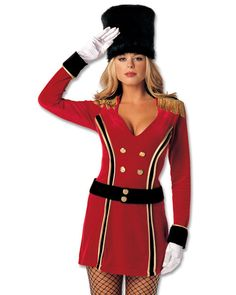 Sexy Guard Me Royally Costume for Women | Halloween Costumes