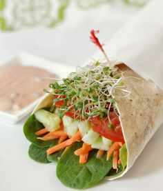 Vegan Garden Wrap