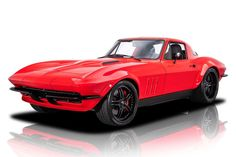 this picture is of a restomod corvette and a good answer to the question, what is a restomod?
