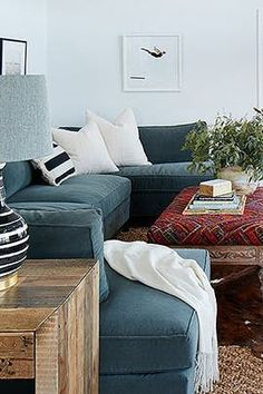 U-Shaped Sectionals Are the Best New Home Trend via @PureWow