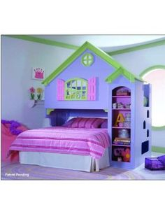 Tradewinds Doll House Wood Loft Bunk Bed - ah, a steal at only *cough* $1,569