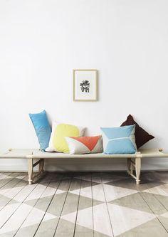 Love this floor idea!