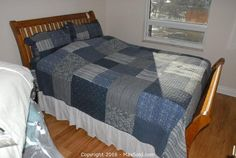 MaxSold - Auction: Kingston  Moving Online Auction - Head Board Foot Board Mattress And Box Spring