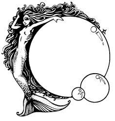 Free Printable Little Mermaid Stationery