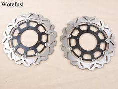 126.07$  Buy now - http://alibj7.shopchina.info/1/go.php?t=32664383431 - Wotefusi Front Brake Disc Rotor For SUZUKI GSXR 600 08-09 GSXR 750 08-09 GSXR 1000 09-11 2009 2010 2011 [MT110]  #shopstyle