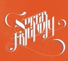 Superfriendly Alternate by Jay Quercia, via Behance