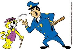 Top Cat -- much too smart for poor Officer Dibble! DOES ANYONE REMEMBER THESE AMAZING OLD SUNDAY MORNING CARTOONS!?!?