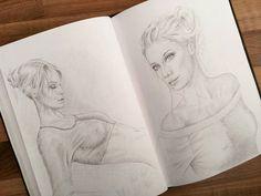 Doppelseite im Skizzenbuch Black N White, Greek Mythology, Figure Drawing, Art Girl, Projects To Try, Doodles, Sketches, Hero, Deviantart