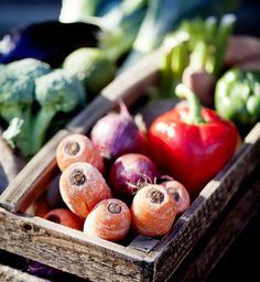Friskpresset grønsagssaft