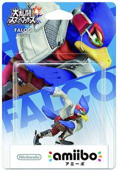 Nintendo amiibo Super Smash Bros. Falco 3DS Wii U Figure from Japan F/S #Nintendo