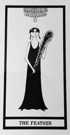 In 1969 famed illustrator Edward Gorey made a charming parody of tarot based around his own clever Gothic works. Published as a limited edition in 1995 (shown below from my collection) it was offered to the public in a mass-market edition in 2007. It's hilarioys & the accompanying Little White Book of keywords skewers the genre with snarky elan.