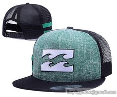 Billabong Mesh Snapback Hats Quick-drying cap 001|only US$6.00 - follow me to pick up couopons.