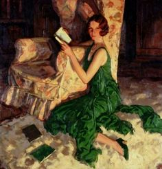 "Juliet, Daughter of Richard H. Fox of Surrey"" by Alfred Lambart, 1931."
