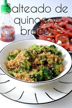 Discover recipes, home ideas, style inspiration and other ideas to try. Fried Quinoa, Shrimp And Quinoa, Ceviche, Bbq Grill, Quinoa Salad Recipes Cold, Yogi Food, Quinoa Side Dish, Quinoa Benefits, Quinoa Burgers