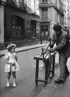 Paris. Photo de Robert Doisneau.