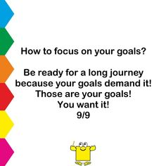 How to focus on your goals? . #LifeGuidepost #MartinMaxKing #MotivationEveryday #InspireDaily #Commitment #Dreams #Goal #TakeAction #PersonalGrowth #PositiveThinking #NoExcuse #ChangeForTheBetter #KnowYourWhy #SuccessTip #SayYesToLife #StayHumble #PositiveVibes #MotivationalQuestion #GreatDay #SelfDevelopment #WorkHard #Hope #StartDoing #Quote #Challenger #BelieveInYourself #PositiveLife #Vision #LoveYourself