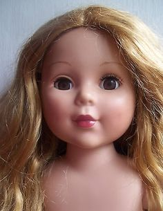 18-inch-RED-strawberry-blond-CURLY-hair-MADAME-ALEXANDER-DOLL-brown-eyes