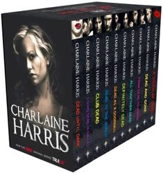 Sookie Stackhouse Series, by Charlaine Harris. Really love the series, but stopped about book #9. Got confusing with w/show combining plots from various books!