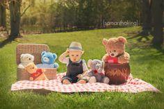 ©Samantha King Photography Teddy bear picnic theme photo shoot