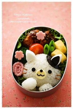 Cat bento  https://www.facebook.com/yasuko.takahashi.969