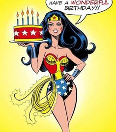 Birthday wishes from Wonder Woman. Birthday Posts, Happy Birthday Pictures, Happy Birthday Quotes, Happy Birthday Greetings, Birthday Love, Birthday Messages, Happy Birthday Superhero, Wonder Woman Birthday, Happy Birthday Woman