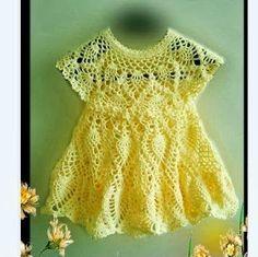 Delicadezas en crochet Gabriela: Vestidito