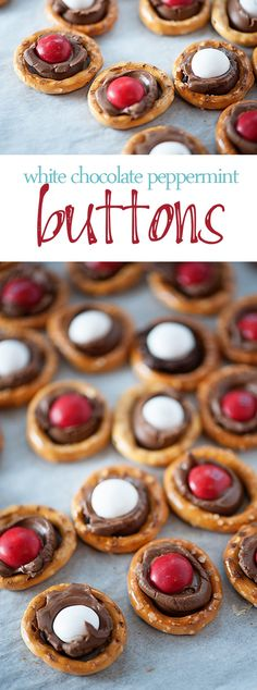 Button Candies - with just three ingredients!