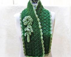 Écharpe rose gris chaud foulard foulards pour femmes par lanadearg