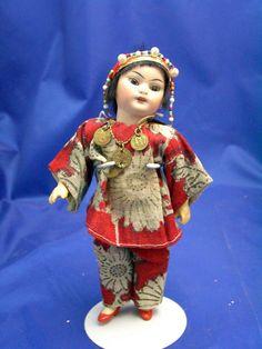 "8"" Simon Halbig 1199 Oriental Doll"