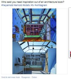 Interieur design based on a cartoon, Arnold.
