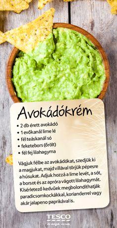 Az avokádókrém legalább annyira finom, mint amennyire egyszerű elkészíteni. Próbáld ki Te is, megéri! ;) #tesco #tescohungary #recept #avokado #finom #reggeli
