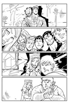 FvZ 4-Inks Page 3 by theFranchize.deviantart.com on @deviantART