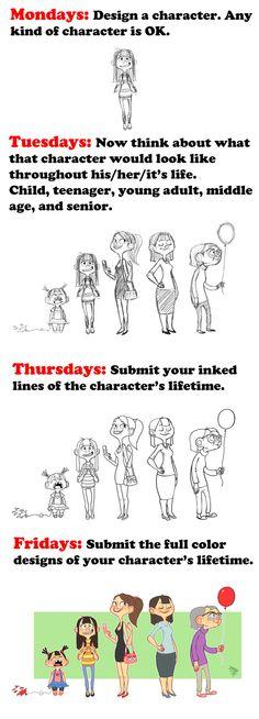 Lifetime Challenge Example by LuigiL.deviantart.com