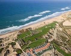 Ocean view houses for sale at the Praia Del Rey Golf & Beach Resort, Portugal.
